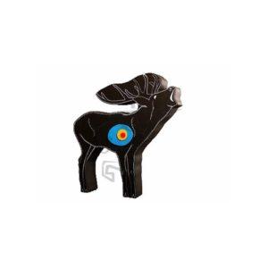 Cible cerf 110x110x17cm