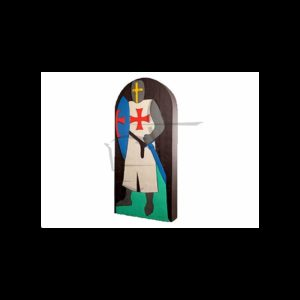 Cible chevalier 190x70x17