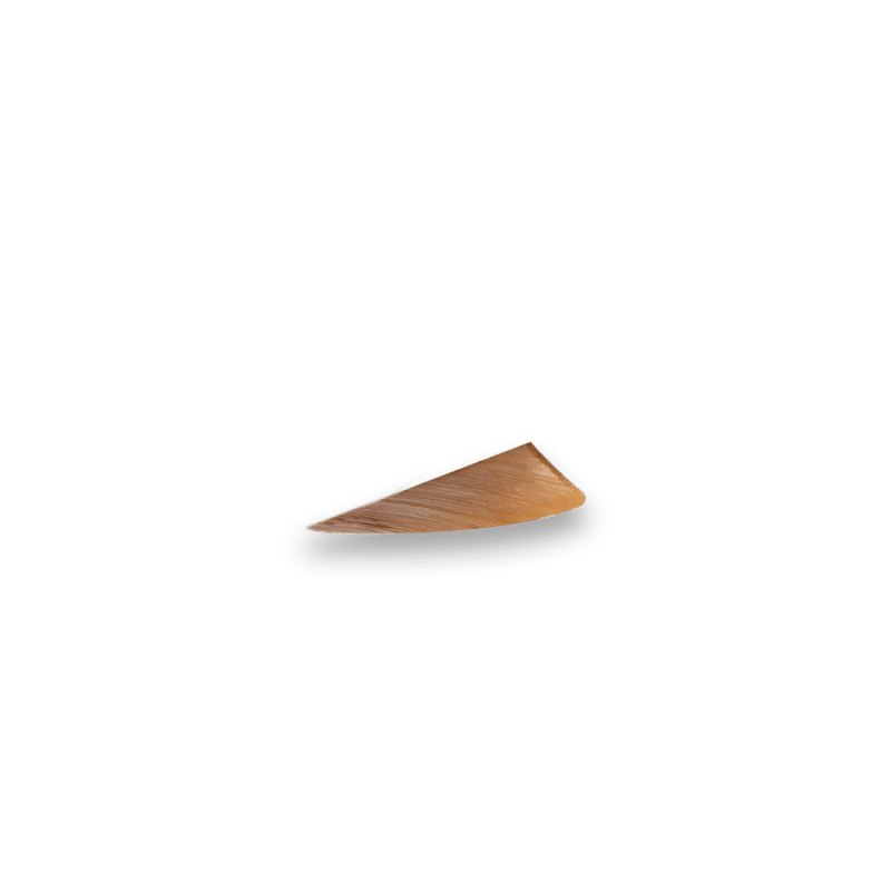 Solid Caramel Brown