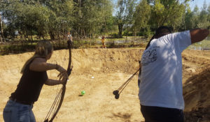 Jeu de foot archery game